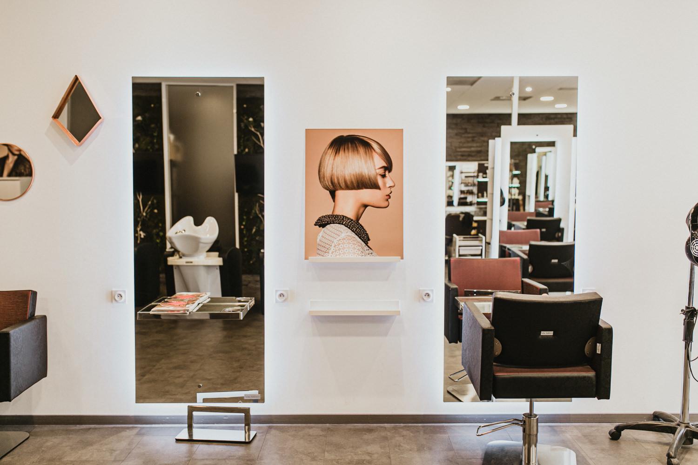 Photographe salon de coiffure à Montpellier